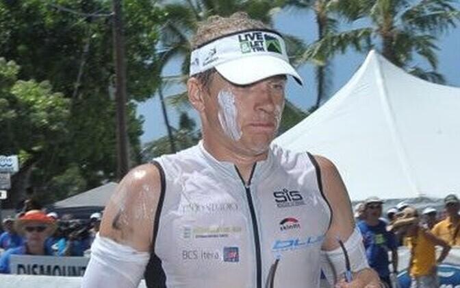 Marko Albert Hawaii Ironmani jooksudistantsil