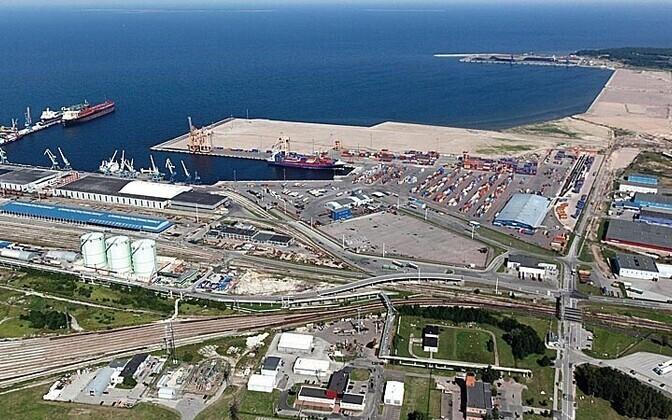 Muuga Harbor, Tallinn's international cargo port