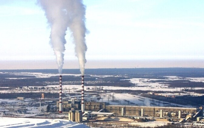 The Eesti Power Plant, one of Eesti Energia's two shale-burning plants near Narva