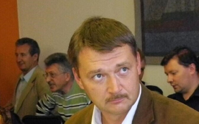 депутат Нарвского горсобрания Артур Пярноя
