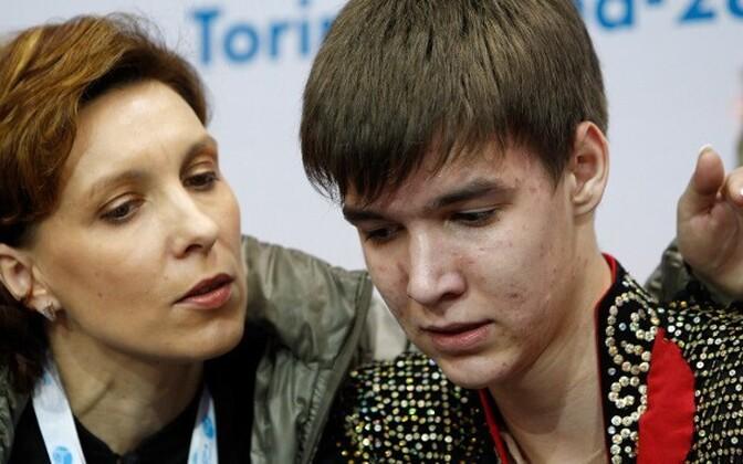 Оксана Романенкова и Виктор Романенков