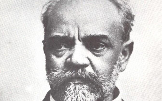 Antonin Dvorak (1841-1904), as symbolic of the Czech nation as tasty lager