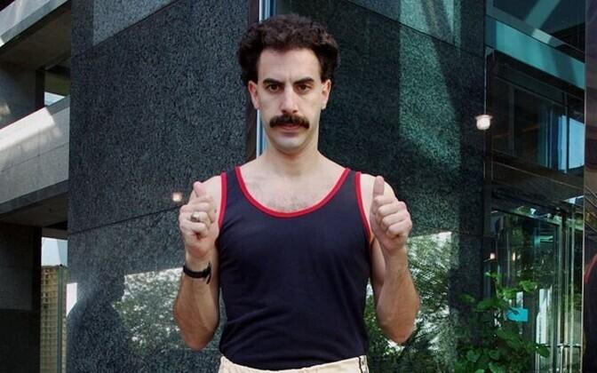 Тележурналист Борат - герой запрещенного в Казахстане одноименного фильма.