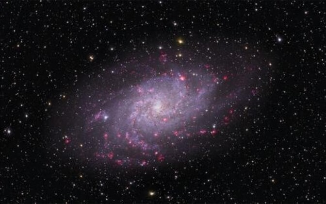Uute tähtede sündi valmistavad ette magnetväljad