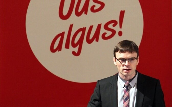Chairman of Social Democrats Sven Mikser