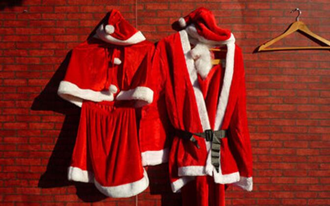 Jõuluvanast ei tasu kehalise vormi osas eeskuju võtta.