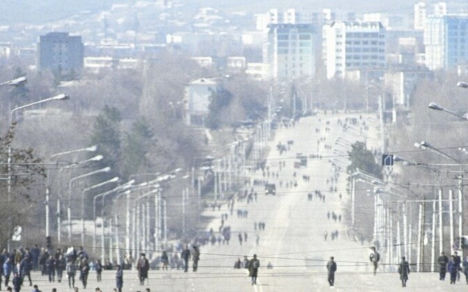 Dushanbe, the capital of Tajikistan