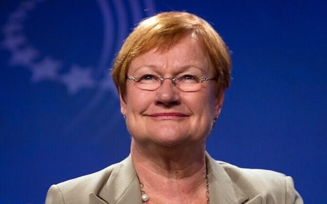 Экс-президент Финляндии Тарья Халонен