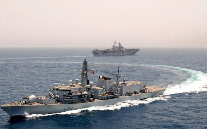 Напряженность вокруг Ормузского пролива, соединяющего Персидский залив с Индийским океаном, не снижается.
