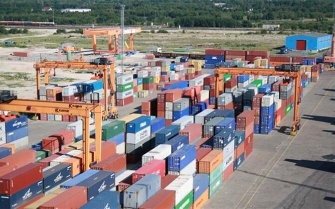 Muuga Harbor container terminal (image is illustrative).