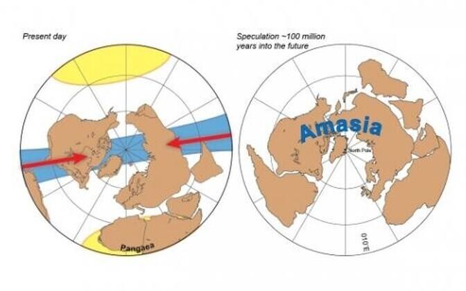 Tulevane hiidmanner tekib põhjapoolusele