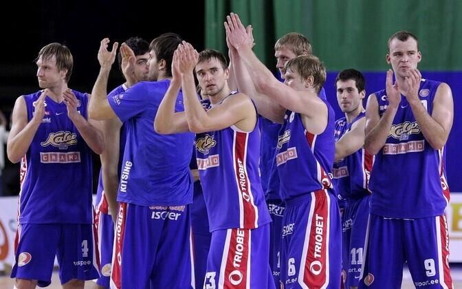 BC Kalev/Cramo meeskond