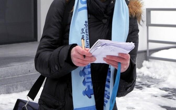 Последняя перепись населения Эстонии проходила с 31 декабря 2011 года до 31 марта 2012 года.