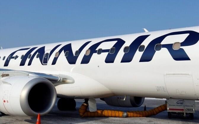 Самолет авиакомпании Finnair.