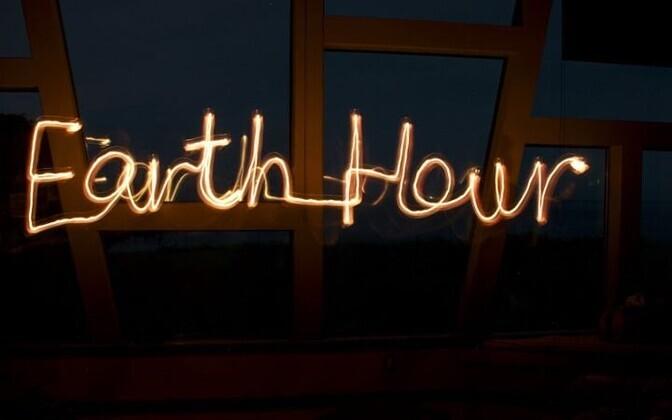 В этом году кампания призывает людей и предприятия выключить электричество на час в субботу, 30 марта, в промежутке между 20:30 и 21:30.
