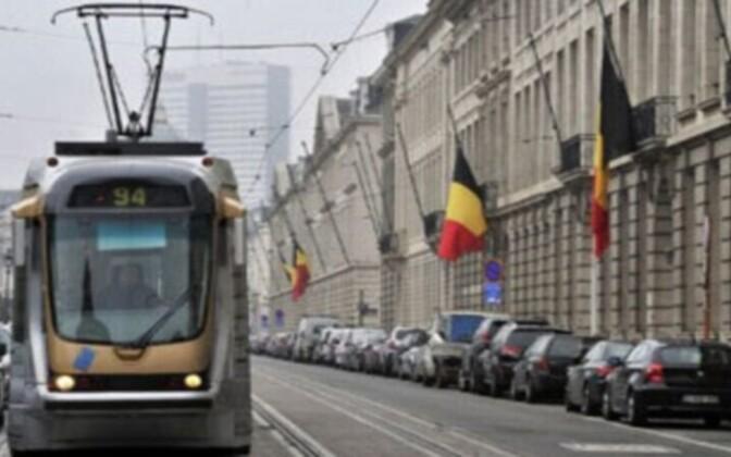 Общественный транс брюсселя