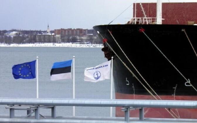 The port of Sillamäe.