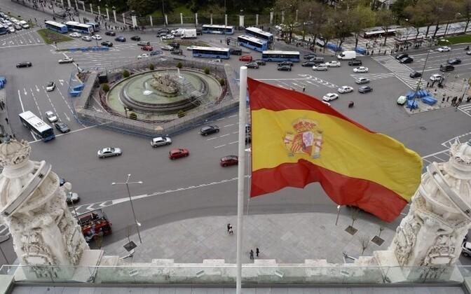Испанский флаг.