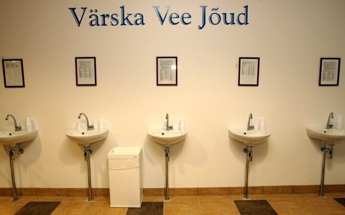 Värska is also known for its mineral water spa