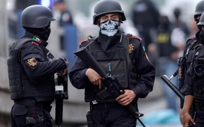 Мексиканские полицейские