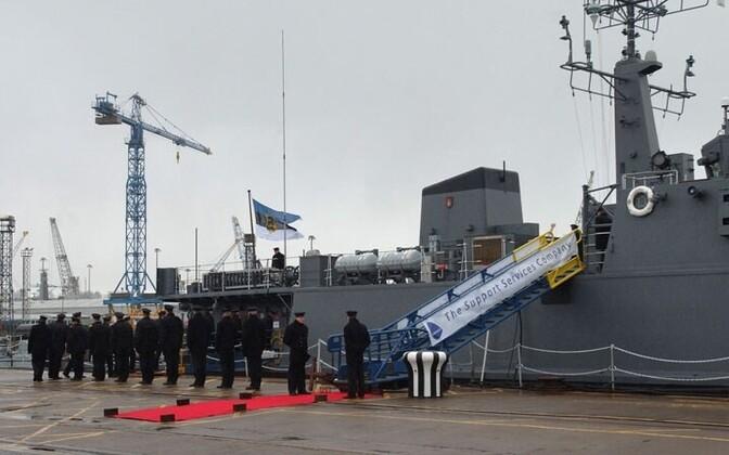 The Sakala, Estonian Navy Sandown class minehunter pictured in 2012