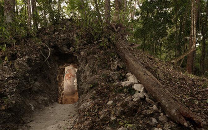 Kitsa käigu taga peitub arheoloogiline varandus.