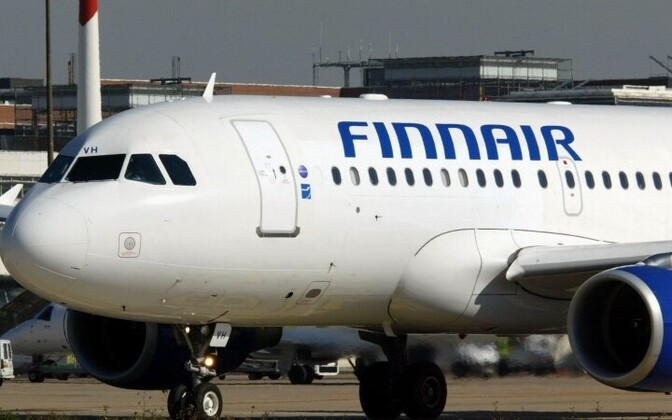 Самолет Finnair.