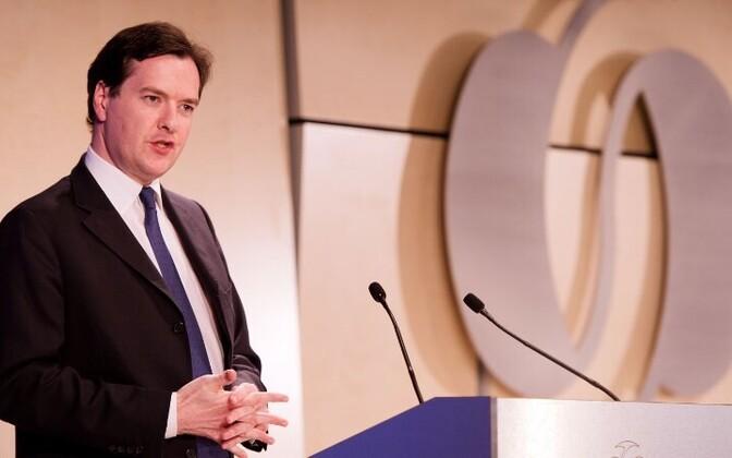 Министр финансов Великобритании Джордж Осборн