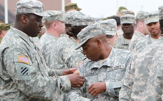 Совместные военные учения НАТО Saber Strike.