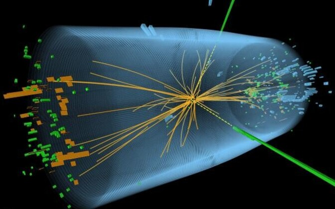 CERNi füüsikud leidsid Higgsi bosoni