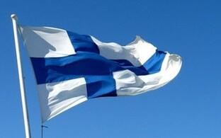 Флаг Финляндии. Иллюстративное фото.