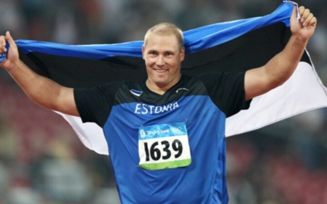 Discus thrower Gerd Kanter won gold in Beijing in 2008. Pundits are looking for a repeat performance.