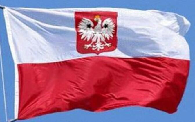 Флаг Польши. иллюстративное фото