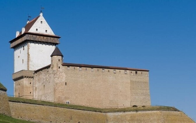 Narva Castle, at Estonia's border with Russia