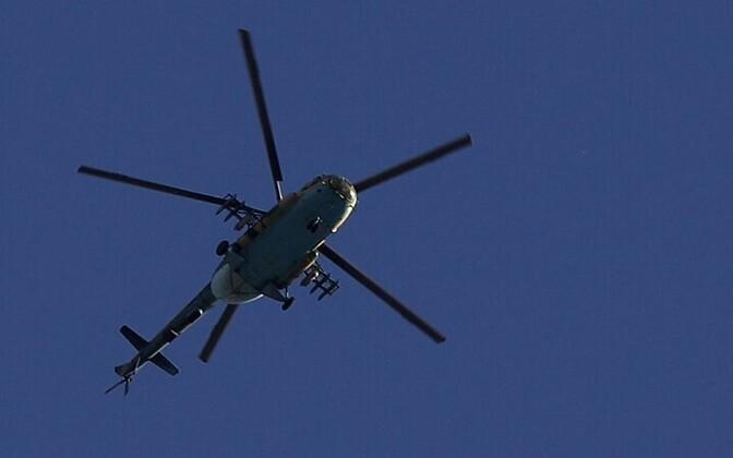 Helikopter; foto on illustratiivne