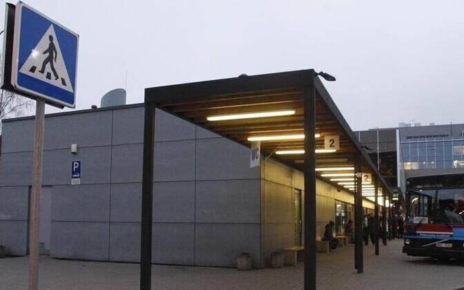 738c9798541 Tartlased pelgavad bussijaama tõrjumist südalinnast   Eesti   ERR