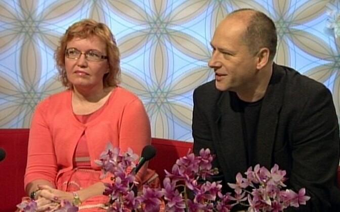 Ene Koitla ja Tanel Tammet ERR