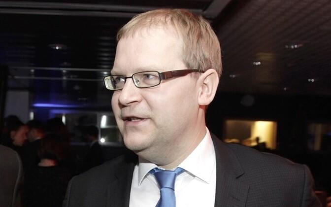 Министр иностранных дел Эстонии Урмас Паэт.