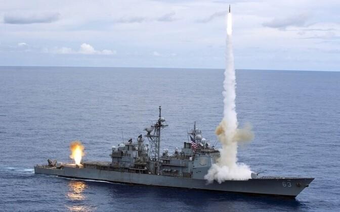 Военные учения ВМС США. Иллюстративное фото.