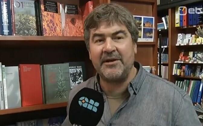 Kirjanik Mart Kivastik ERR