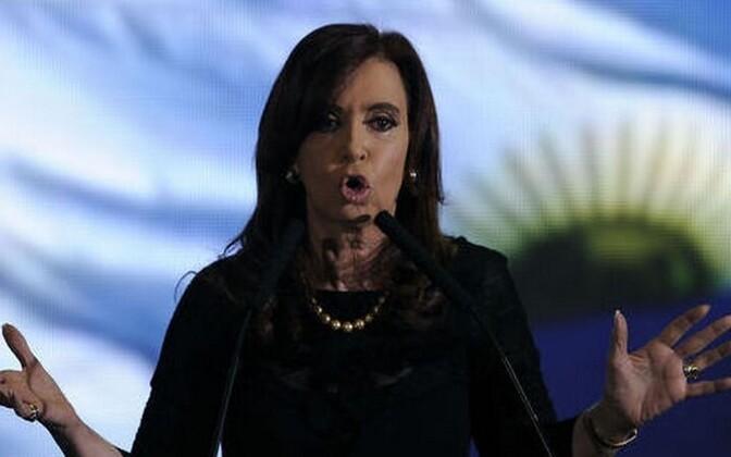 Cristina Fernandez loodab seadusemuudatusele.