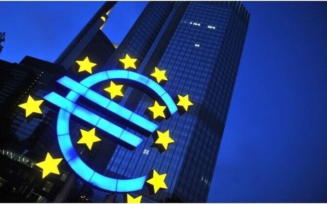 Учетная ставка ЕЦБ осталась на прежнем уровне.