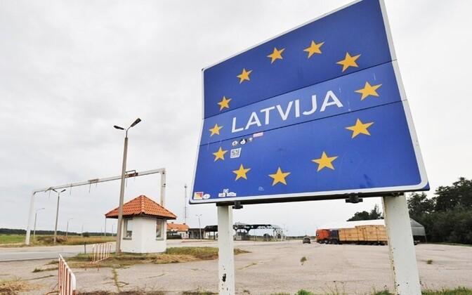 Государственная граница Латвии.
