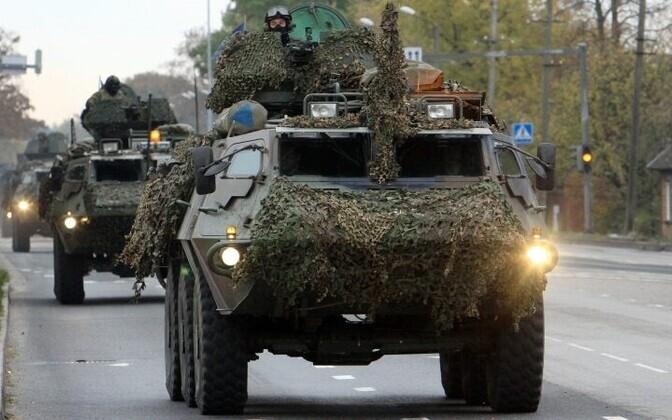 Идея президента Латвии объединить вооруженные силы трех балтийских стран не находит поддержки в руководстве Эстонии.