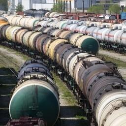 Raudteevagunid. Foto on illustreeriv.