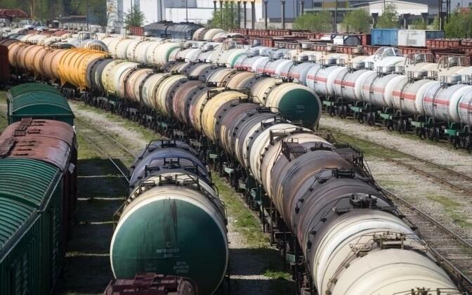 Tanker cars. Photo is illustrative.