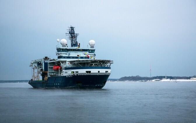 Icebreaker MSV Botnica