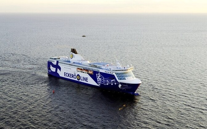 Eckerö's MS Finlandia, the vessel affected by Wednesday's cancellation.