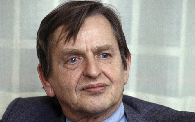Rootsi peaminister Olof Palme (1927-1986) 1984.