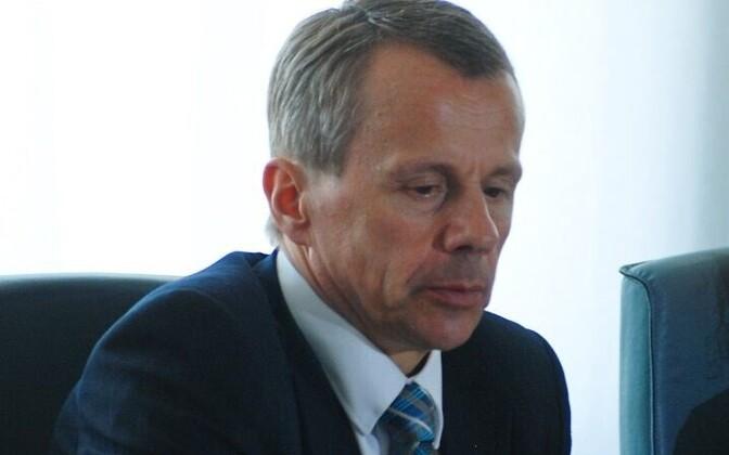 Министр финансов Юрген Лиги.